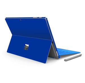 Microsoft Surface PRO 4 Glossy Royal Blue Skin Wrap Sticker Decal Cover Protector by EasySkinz