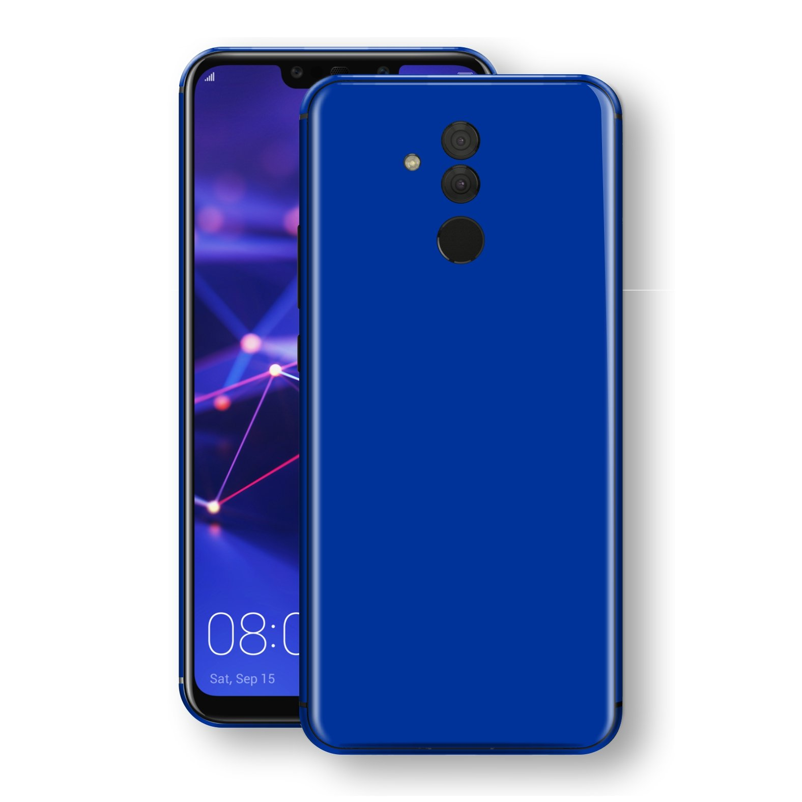 Huawei MATE 20 LITE Royal Blue Glossy Gloss Finish Skin, Decal, Wrap, Protector, Cover by EasySkinz | EasySkinz.com