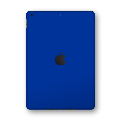 "iPad 10.2"" (8th Gen, 2020) Glossy Royal Blue Skin Wrap Sticker Decal Cover Protector by EasySkinz"