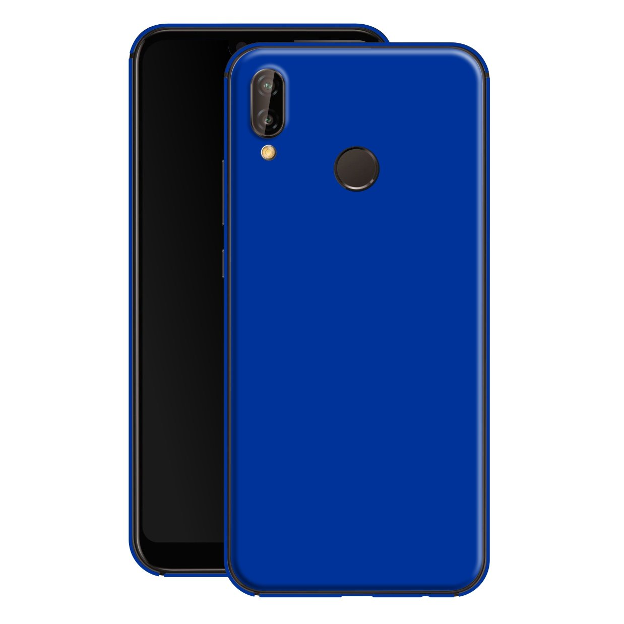 Huawei P20 LITE RoyalBlue Glossy Skin, Decal, Wrap, Protector, Cover by EasySkinz | EasySkinz.com