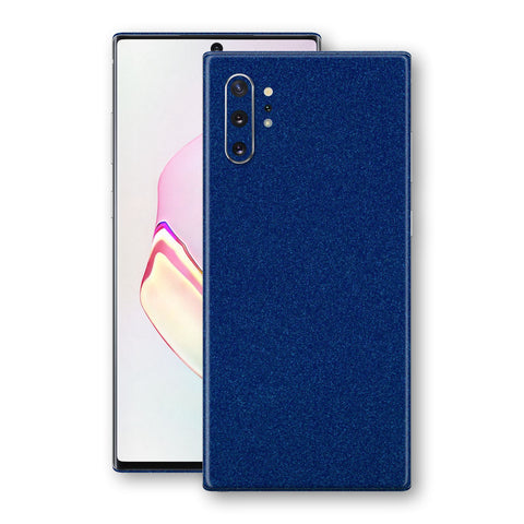 Samsung Galaxy NOTE 10+ PLUS Diamond BLUE Shimmering, Sparkling, Glitter Skin, Decal, Wrap, Protector, Cover by EasySkinz | EasySkinz.com