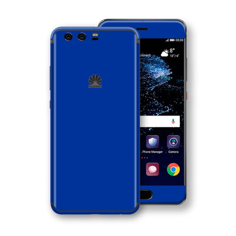 Huawei P10+ PLUS  Royal Blue Glossy Gloss Finish Skin, Decal, Wrap, Protector, Cover by EasySkinz | EasySkinz.com