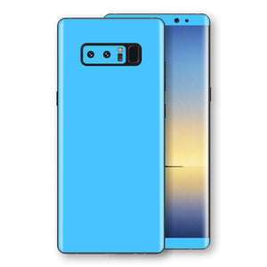 Samsung Galaxy NOTE 8 Blue Matt Skin, Decal, Wrap, Protector, Cover by EasySkinz | EasySkinz.com