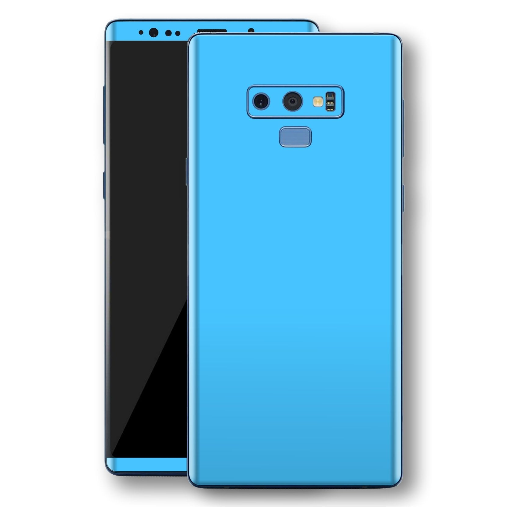 Samsung Galaxy NOTE 9 Blue Matt Skin, Decal, Wrap, Protector, Cover by EasySkinz | EasySkinz.com