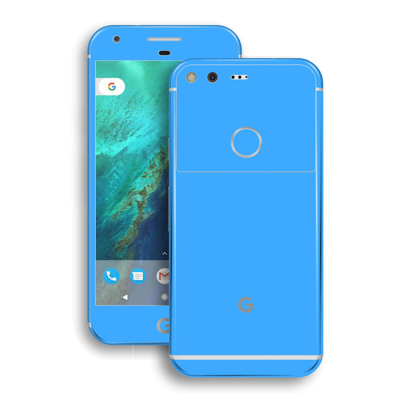 Google Pixel XL Blue Matt Skin by EasySkinz