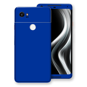 Google Pixel 2 XL Royal Blue Glossy Gloss Finish Skin, Decal, Wrap, Protector, Cover by EasySkinz | EasySkinz.com