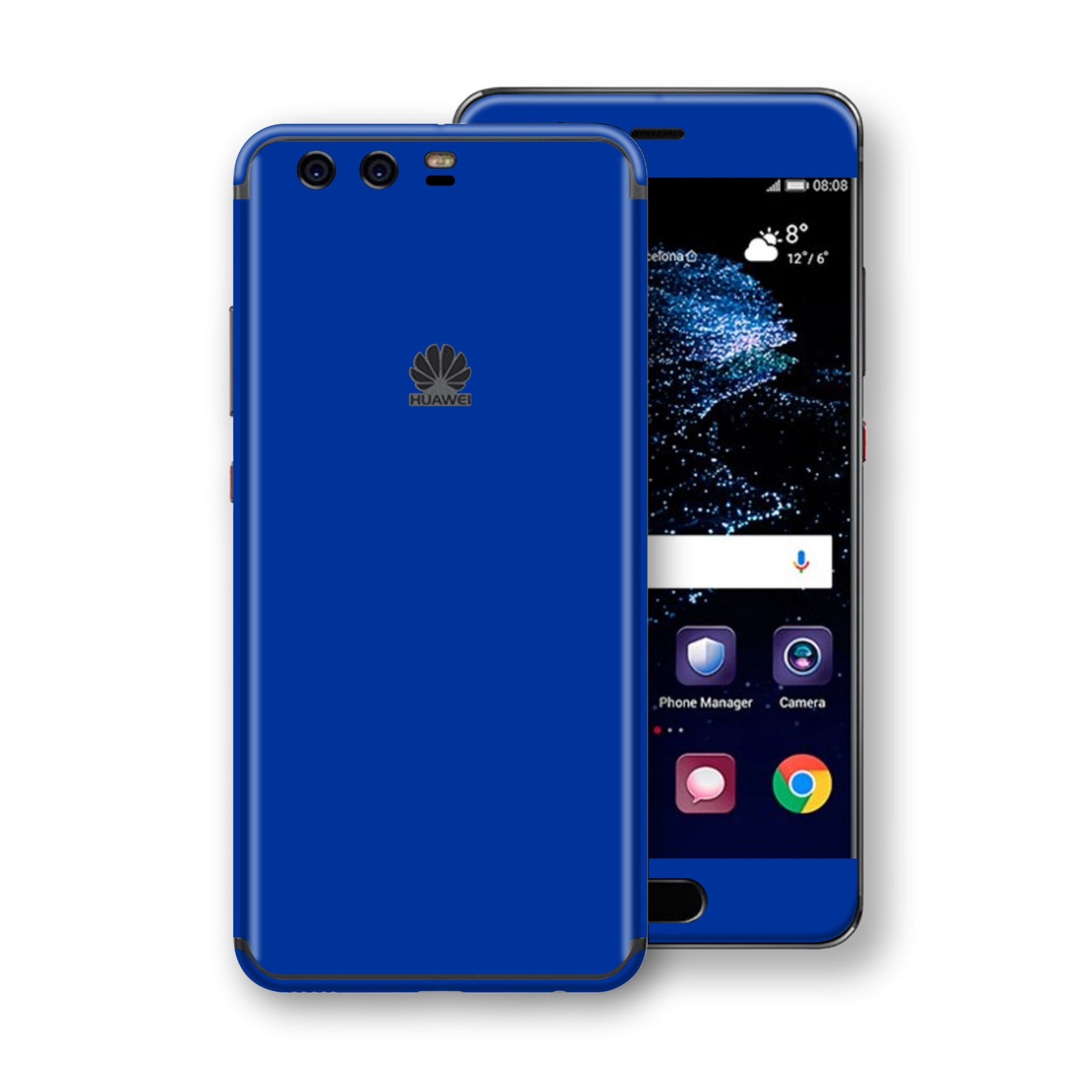 Huawei P10  Royal Blue Glossy Gloss Finish Skin, Decal, Wrap, Protector, Cover by EasySkinz | EasySkinz.com
