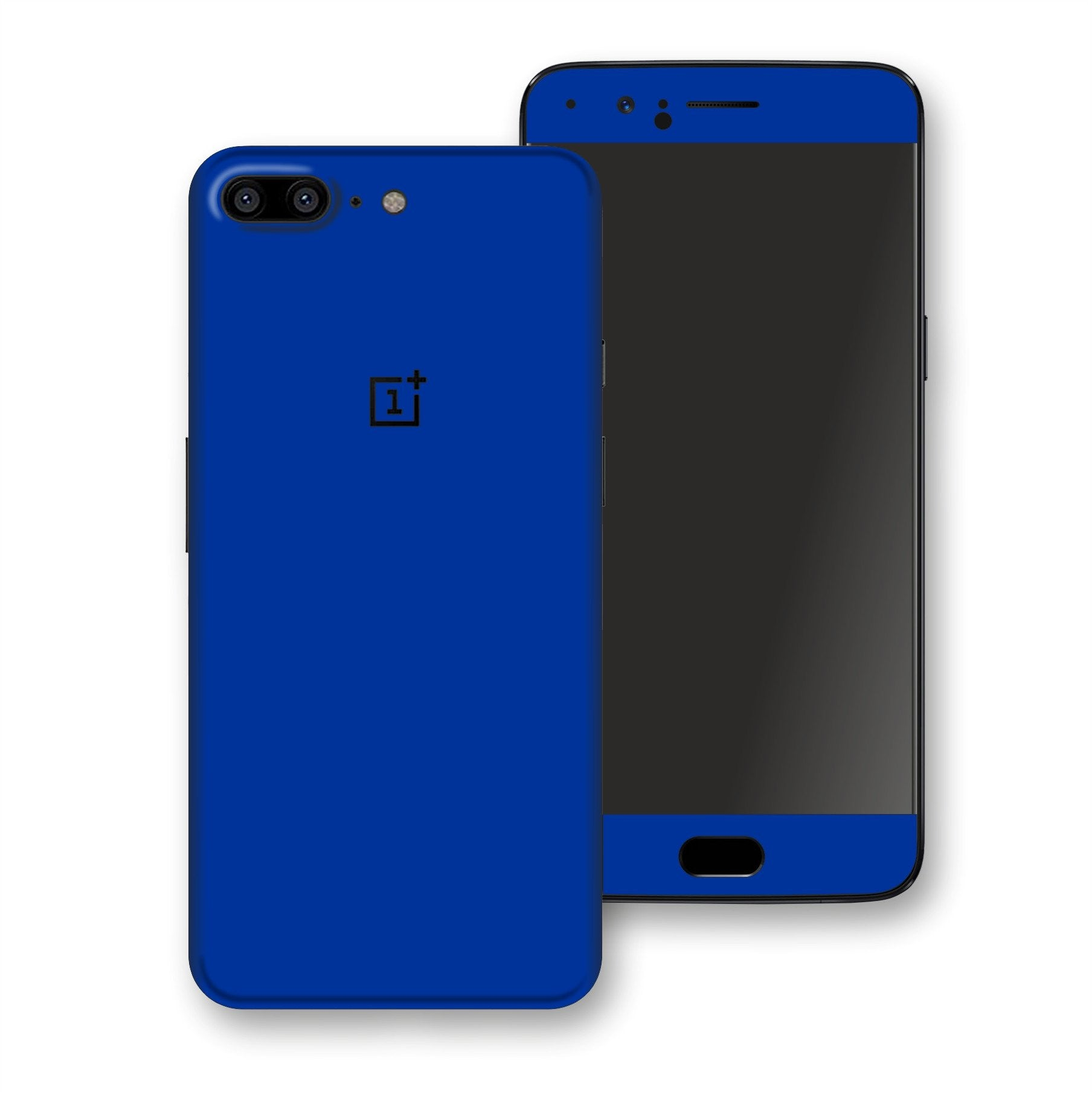 OnePlus 5 Royal Blue Glossy Gloss Finish Skin, Decal, Wrap, Protector, Cover by EasySkinz | EasySkinz.com