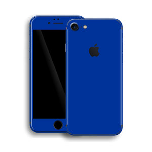 iPhone 8 Glossy Royal Blue Skin, Wrap, Decal, Protector, Cover by EasySkinz | EasySkinz.com