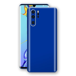 Huawei P30 PRO Royal Blue Glossy Gloss Finish Skin, Decal, Wrap, Protector, Cover by EasySkinz | EasySkinz.com