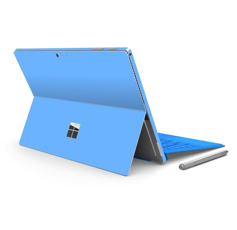 Microsoft Surface PRO 4 Blue MATT Matte Skin Wrap Sticker Decal Cover Protector by EasySkinz