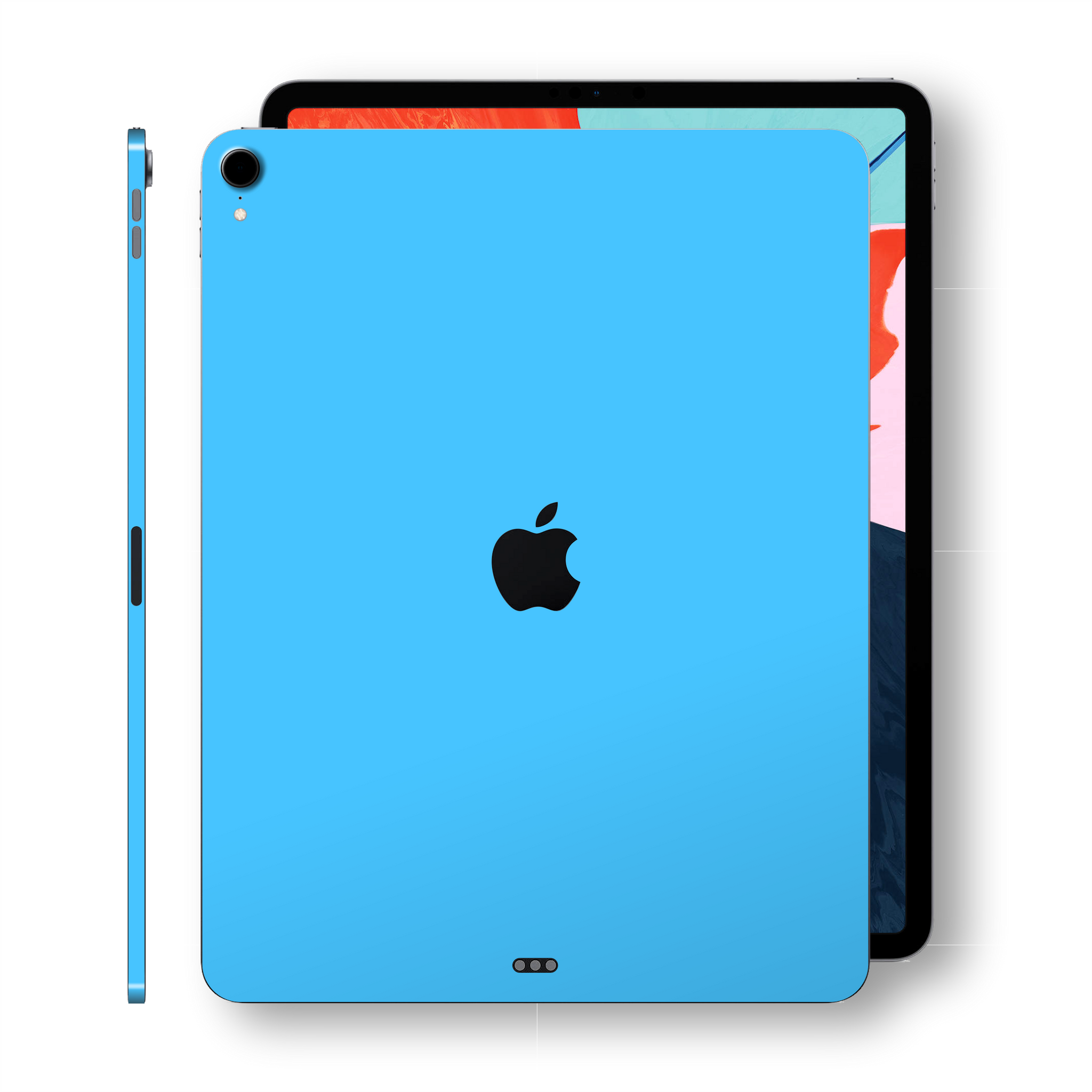 iPad PRO 11 inch 2018 Matt Matte Blue Skin Wrap Sticker Decal Cover Protector by EasySkinz