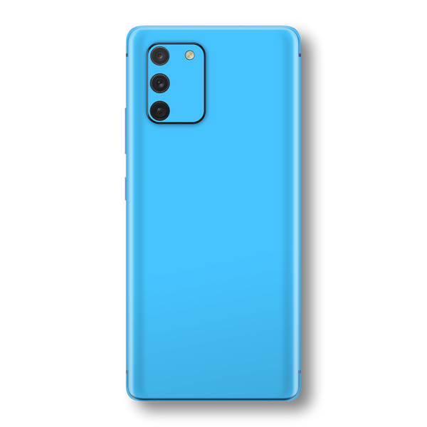 Samsung Galaxy S10 LITE Blue Matt Skin Wrap Sticker Decal Cover Protector by EasySkinz