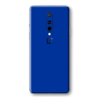 OnePlus 8 Royal Blue Glossy Gloss Finish Skin Wrap Sticker Decal Cover Protector by EasySkinz