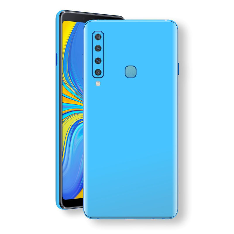 Samsung Galaxy A9 (2018) Blue Matt Skin, Decal, Wrap, Protector, Cover by EasySkinz | EasySkinz.com
