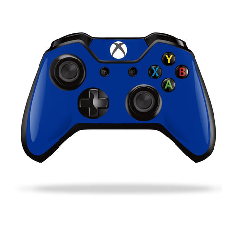 Xbox One Controller Royal Blue GLOSSY Finish Skin Wrap Sticker Decal Protector Cover by EasySkinz