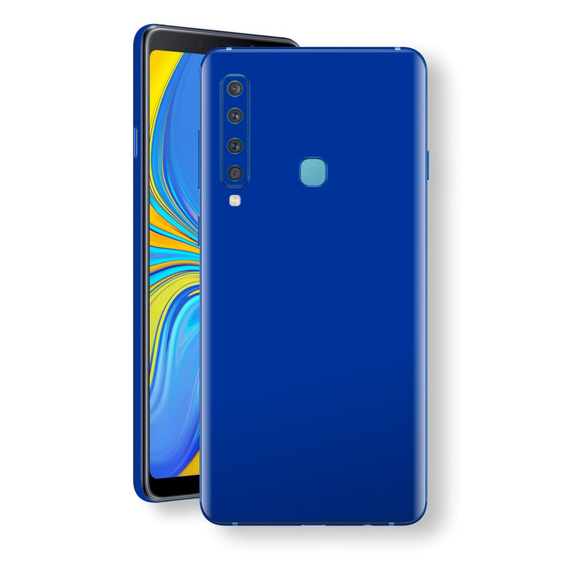 Samsung Galaxy A9 (2018) Royal Blue Glossy Gloss Finish Skin, Decal, Wrap, Protector, Cover by EasySkinz | EasySkinz.com