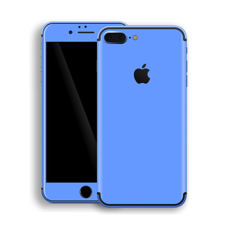 iPhone 7 Plus Blue Matt Skin, Decal, Wrap, Protector, Cover by EasySkinz | EasySkinz.com