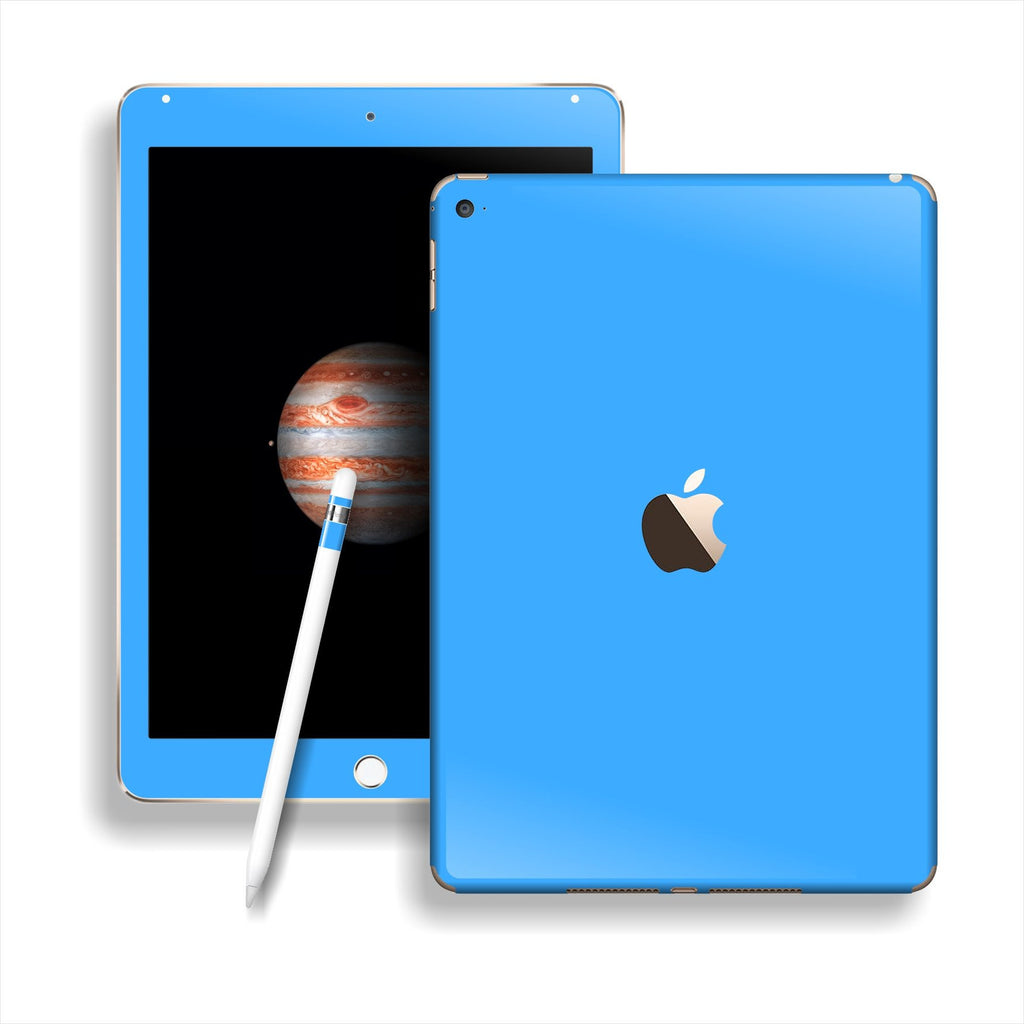 iPad PRO Matt Matte Blue Skin Wrap Sticker Decal Cover Protector by EasySkinz