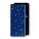 XIAOMI Redmi NOTE 5 Diamond Blue Shimmering, Sparkling, Glitter Skin, Decal, Wrap, Protector, Cover by EasySkinz | EasySkinz.com