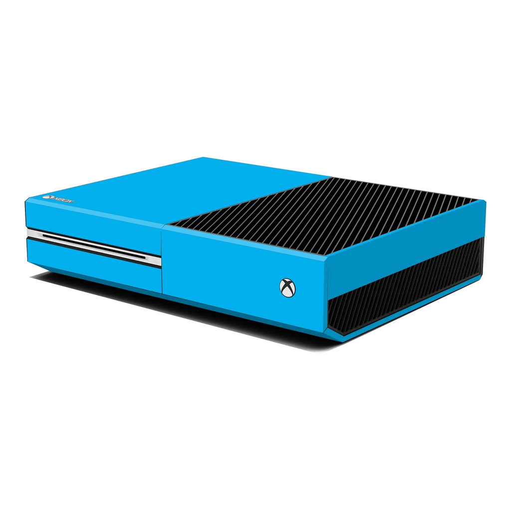 Xbox One Console Blue MATT Skin Wrap Sticker Decal Protector Cover by EasySkinz