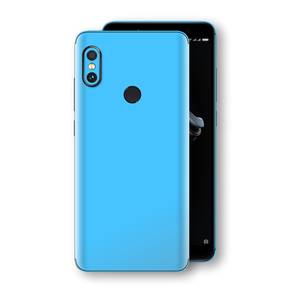 XIAOMI Redmi NOTE 5 Blue Matt Skin, Decal, Wrap, Protector, Cover by EasySkinz | EasySkinz.com