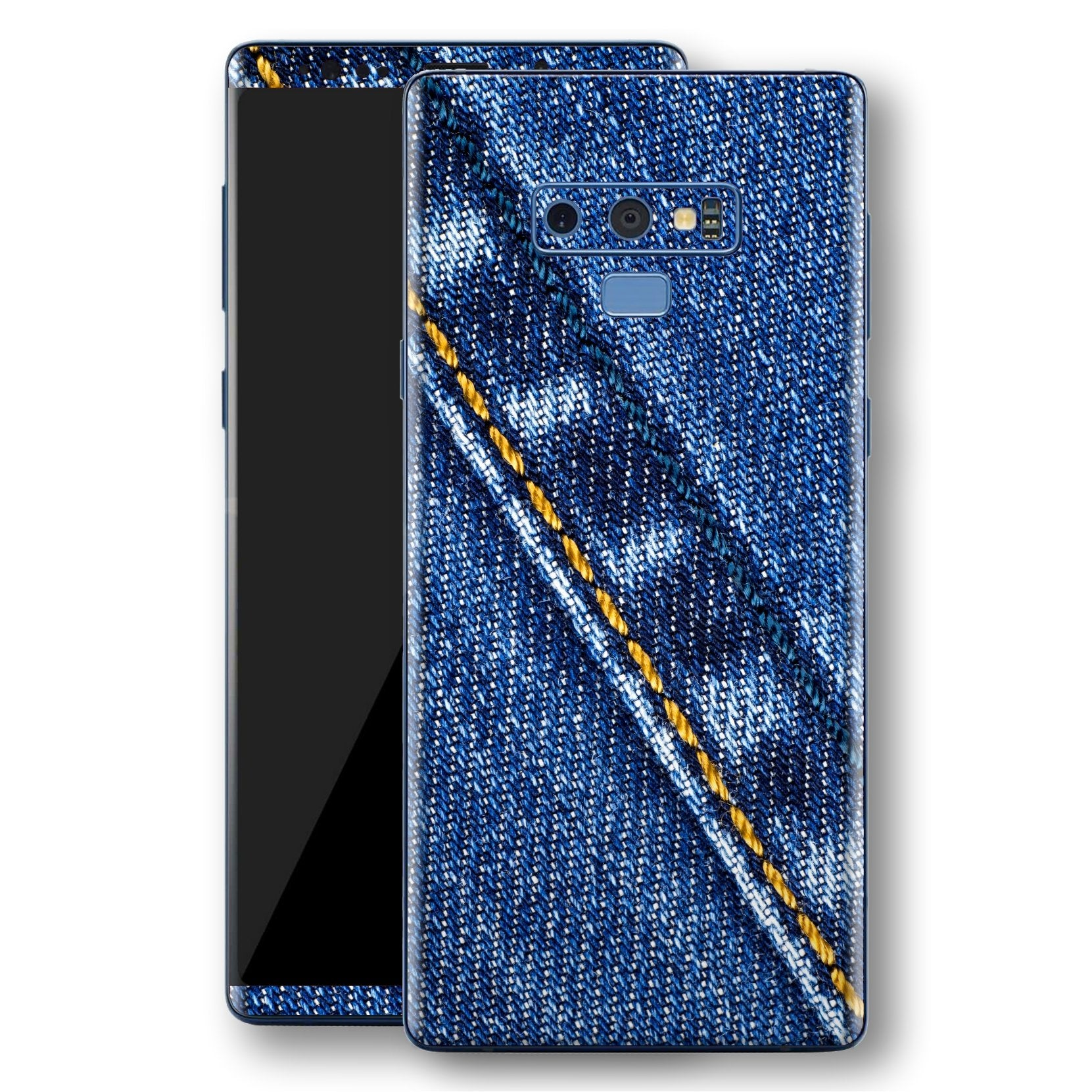 Samsung Galaxy NOTE 9 Signature Blue Jeans Skin Wrap Decal Protector | EasySkinz
