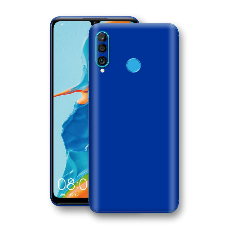 Huawei P30 LITE Royal Blue Glossy Gloss Finish Skin, Decal, Wrap, Protector, Cover by EasySkinz | EasySkinz.com