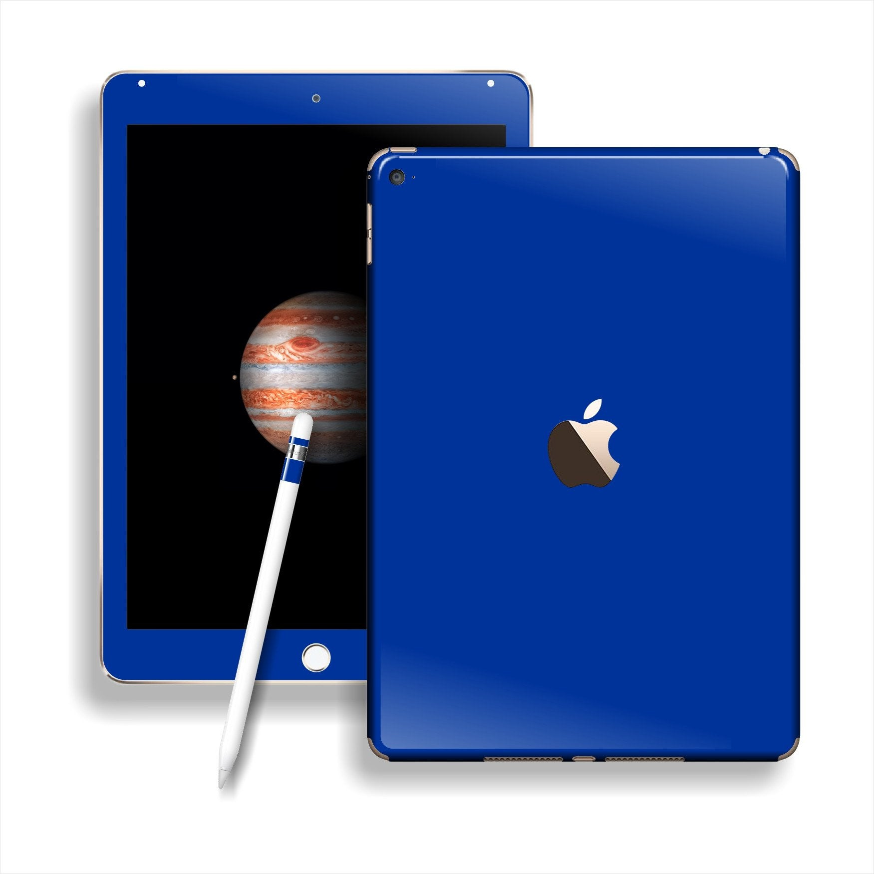 iPad PRO Glossy Royal Blue Skin Wrap Sticker Decal Cover Protector by EasySkinz