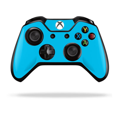 Xbox One Controller Blue MATT Matte Skin Wrap Sticker Decal Protector Cover by EasySkinz