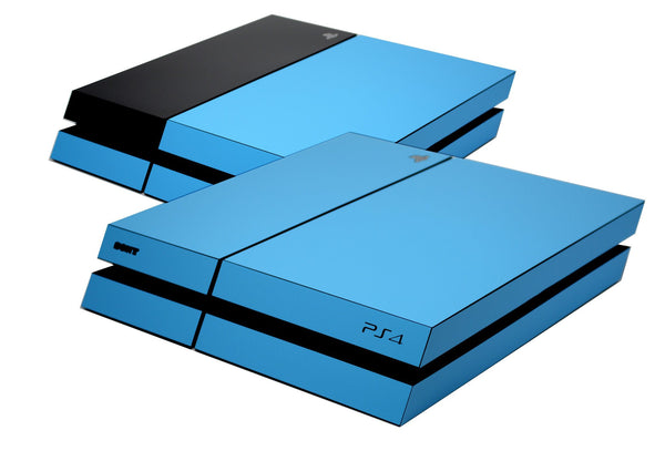 ps4 matt blue skin