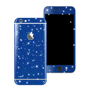 iPhone 6S PLUS Diamond BLUE Shimmering Glitter Skin Wrap Sticker Cover Decal Protector by EasySkinz