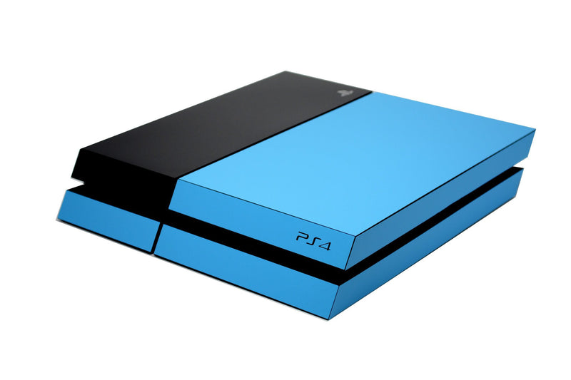 ps4 blue and black matt skin
