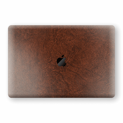 "MacBook Air 13"" (2020) BROWN Leather Skin Wrap Decal Protector 