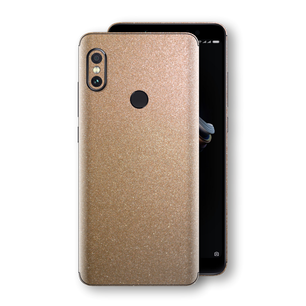 XIAOMI Redmi NOTE 5 Antique Bronze Metallic Skin, Decal, Wrap, Protector, Cover by EasySkinz | EasySkinz.com