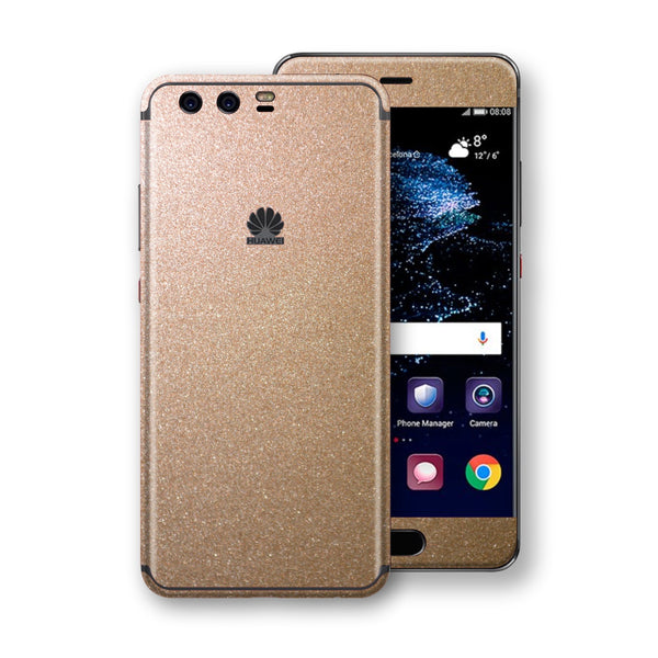 Huawei P10+ PLUS  Antique Bronze Metallic Skin, Decal, Wrap, Protector, Cover by EasySkinz | EasySkinz.com