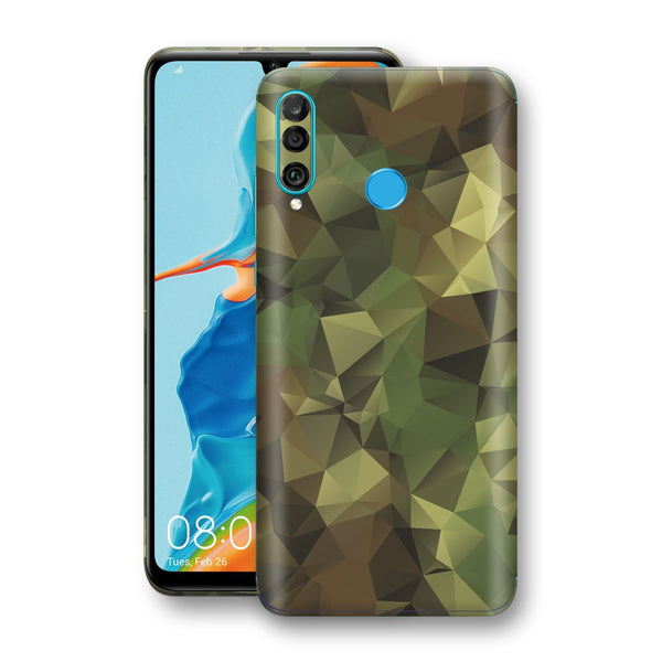 Huawei P30 LITE Print Custom Signature Camouflage Abstract Skin Wrap Decal by EasySkinz