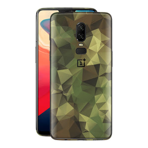 OnePlus 6 Print Custom Signature Camouflage Abstract Skin Wrap Decal by EasySkinz