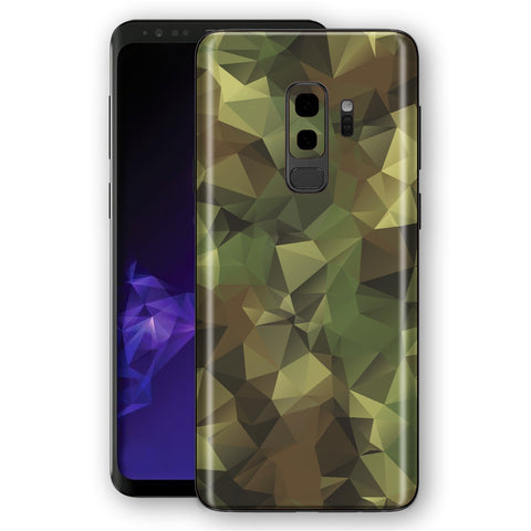 Samsung Galaxy S9+ PLUS Signature Abstract Camouflage Skin, Decal, Wrap, Protector, Cover by EasySkinz | EasySkinz.com