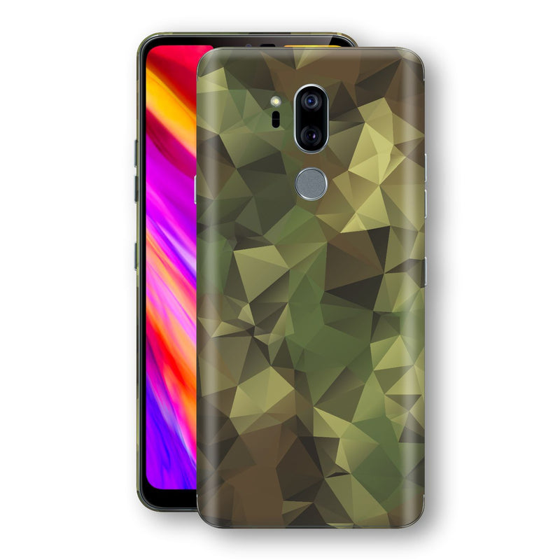 LG G7 ThinQ Print Custom Signature Camouflage Abstract Skin Wrap Decal by EasySkinz