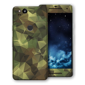 Google Pixel 2 Print Custom Signature Camouflage Abstract Skin Wrap Decal by EasySkinz