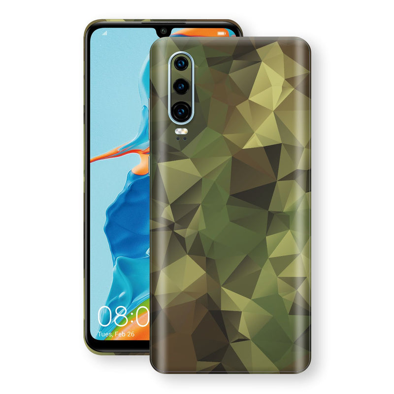 Huawei P30 Print Custom Signature Camouflage Abstract Skin Wrap Decal by EasySkinz
