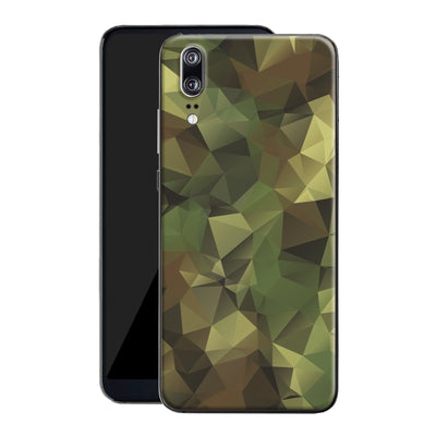 Huawei P20 Print Custom Signature Camouflage Abstract Skin Wrap Decal by EasySkinz