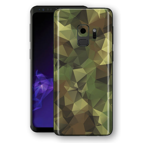 Samsung Galaxy S9 Signature Abstract Camouflage Skin, Decal, Wrap, Protector, Cover by EasySkinz | EasySkinz.com