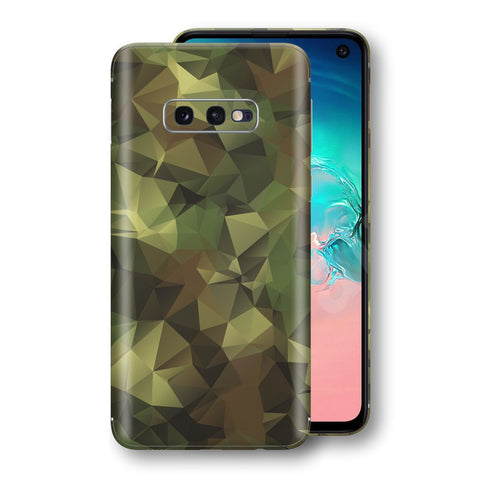 Samsung Galaxy S10e Print Custom Signature Camouflage Abstract Skin Wrap Decal by EasySkinz