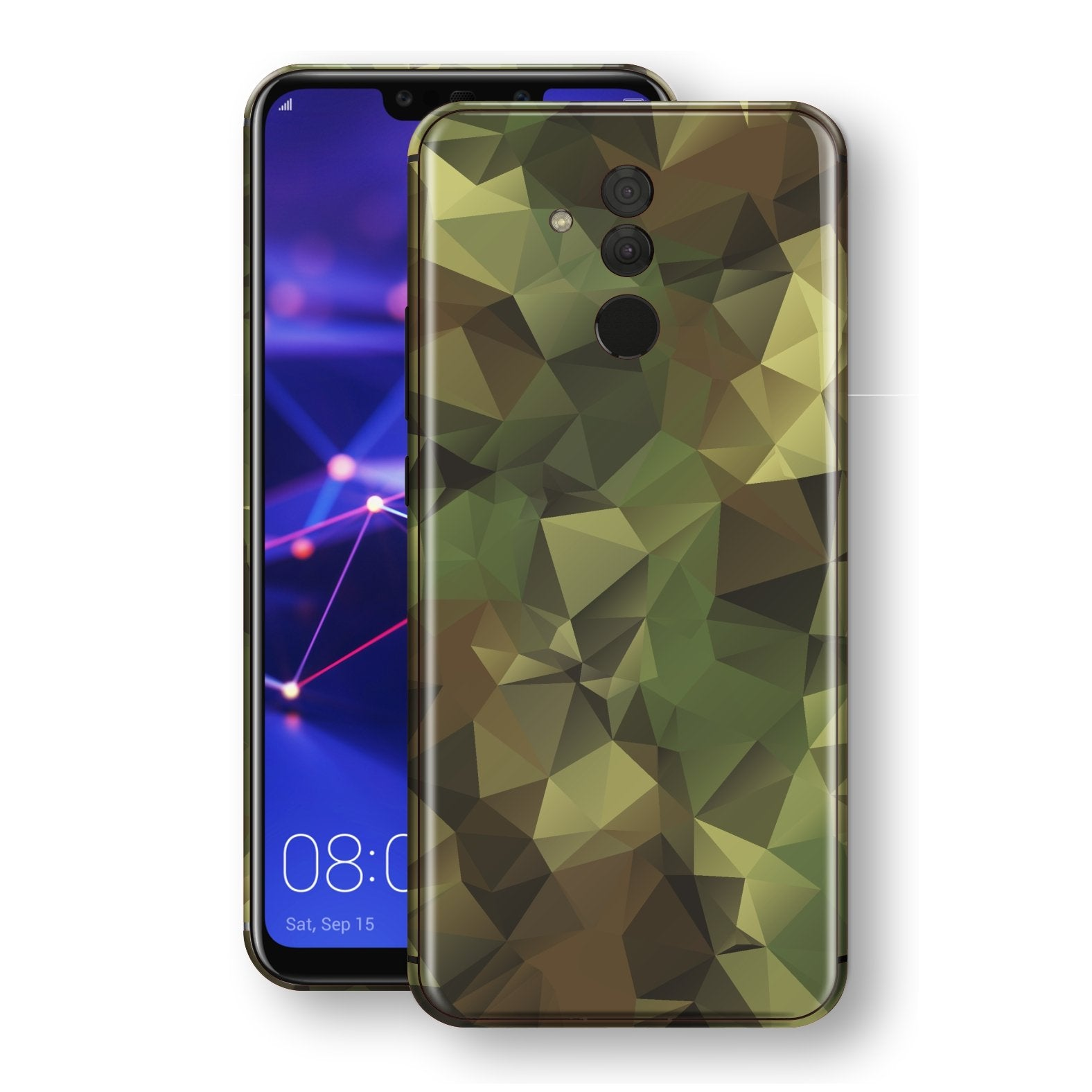 Huawei MATE 20 LITE Print Custom Signature Camouflage Abstract Skin Wrap Decal by EasySkinz