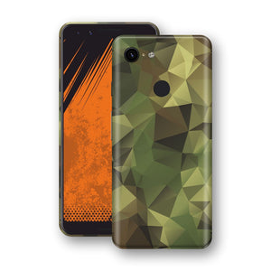 Google Pixel 3 Print Custom Signature Camouflage Abstract Skin Wrap Decal by EasySkinz