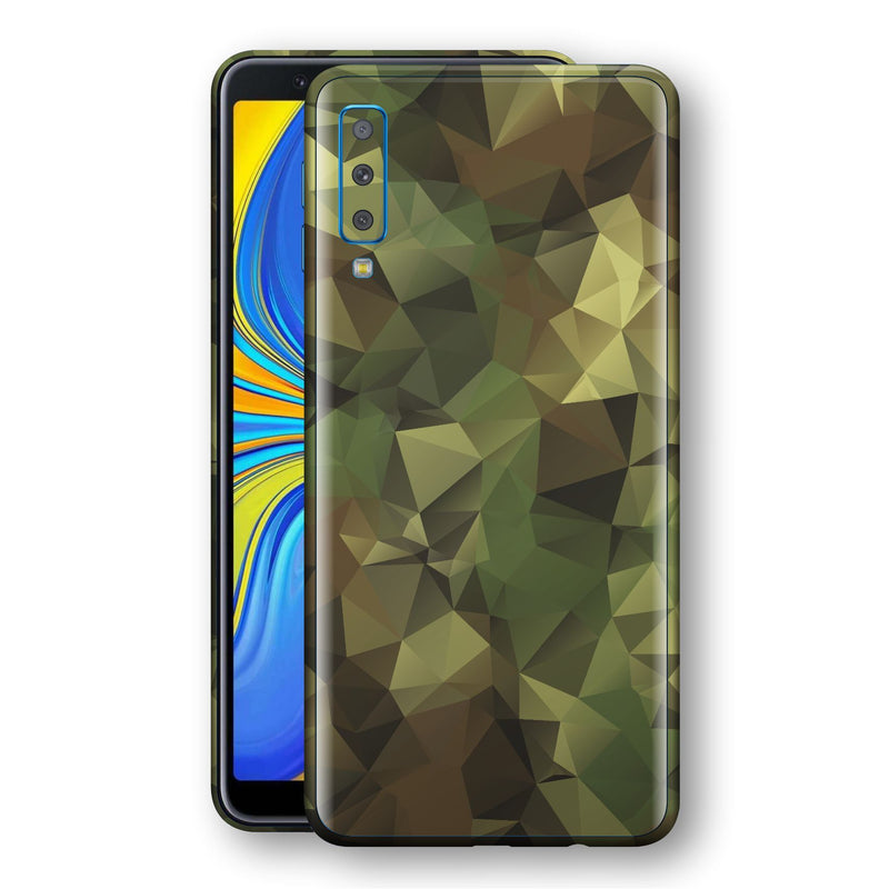 Samsung Galaxy A7 (2018) Print Custom Signature Camouflage Abstract Skin Wrap Decal by EasySkinz