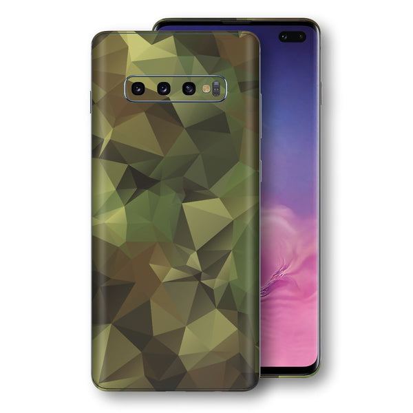 Samsung Galaxy S10+ PLUS Print Custom Signature Camouflage Abstract Skin Wrap Decal by EasySkinz