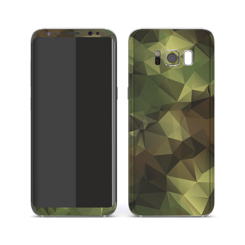 Samsung Galaxy S8 Print Custom Signature Camouflage Abstract Skin Wrap Decal by EasySkinz